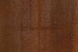 canvas print picture - Ausschnitt Fassade aus verrostetem Corten Stahl mit verschiedenen Mustern, Strukturen und Texturen