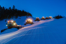 Fleet Of Snowcats Grooming Spr...