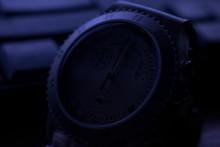 Clock Face In Dark
