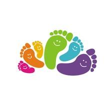 Funny Foot Prints