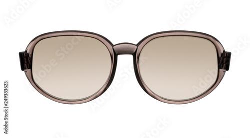 Vintage glasses isolated on white background Fototapeta
