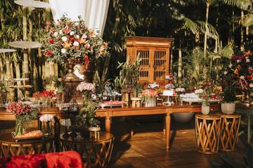 Fototapeta na wymiar wedding decor