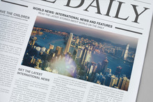 The Daily News Newspaper Mockup
