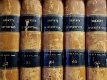 Vieux Livres De Brevets D'inve...