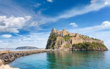 Aragonese Castle, Ischia Island, Italy.