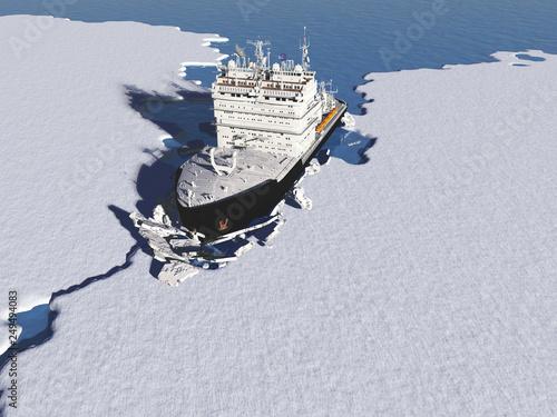 Fotomural Icebreaker