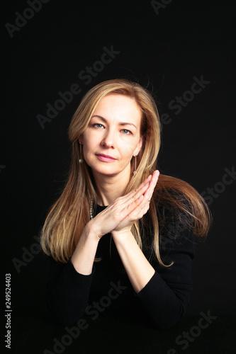 Fotografia  Close up portrait of beautiful woman