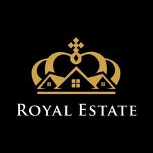 Royal Estate Logo Vector Design Template