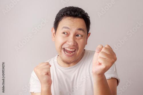 funny asian man dancing