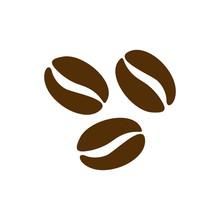 Coffee Beans Icon Logo