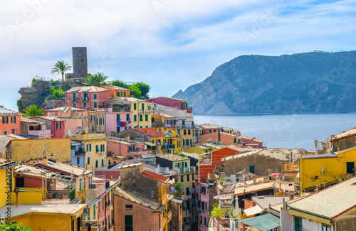 Fotografie, Obraz  Vernazza traditional typical Italian village in National park Cinque Terre with