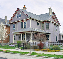 Lavender Victorian House With ...