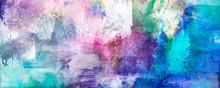 Malerei Texturen Querformat Banner