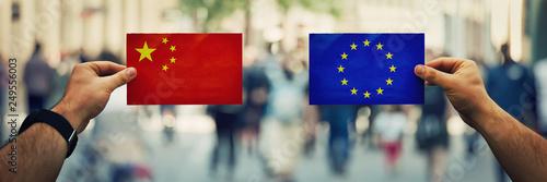 Fotomural  china vs eu