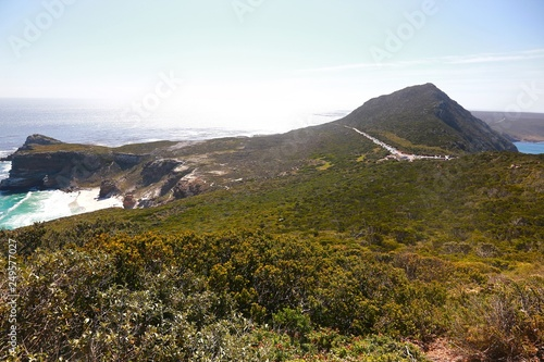 Fotografia  Cape Point & Cape of Good Hope at Cape Town in South Africa