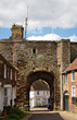 canvas print picture - town gate - II - Rye - UK