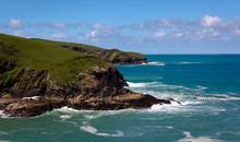 Tintagel Coastline- 2 - Cornwa...