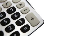 Gros Plan Sur Calculette Calculatrice