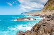 Sea or ocean, rocks and waves
