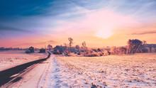 Pennsylvania Winter Sunrise