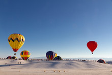 Balloons At White Sands Nation...