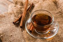 A Cup Of Cinnamon Tea On Sackc...