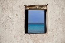 View Through A Window Of An Ol...
