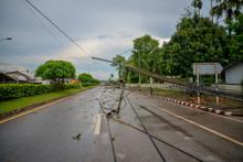 Storm Of Electric Poles Fallin...