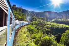 Train From Ella To Kandy . Sri...