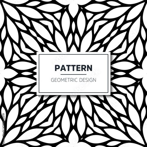 Photo Seamless ethnic and tribal pattern