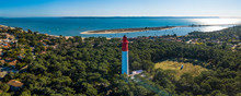 Aerial Wiev, Lighthouse Of Cap...