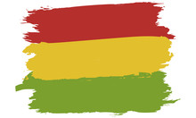 Pan-African Colors Flag: Red, ...