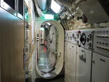 Interior Of An Old Submarine I...