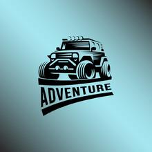 Off-Road Logo Template Illustr...
