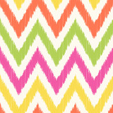 seamless chevron stripes textured fabric pattern - Vector - 249663093