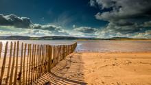 Blue Skies And Golden Sands De...