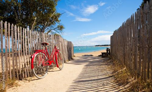 Les plages de Noirmoutier en Île en Vendée - fototapety na wymiar