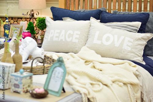Fotografie, Obraz  DSC_0145 cozy hygge bedding decor
