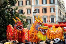Chinese New Year 2019 In Rome.