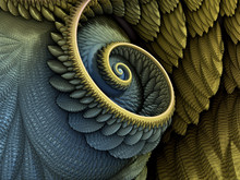 3D Illustration - Spiral Shape...
