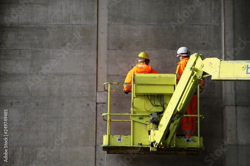 Fototapeta Bauwerksprüfung
