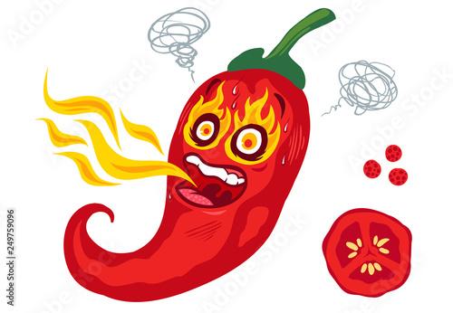 spicy chilli pepper - 249759096