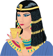 Cleopatra Vector Illustration