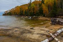 Elliot Falls In Autumn, Pictur...