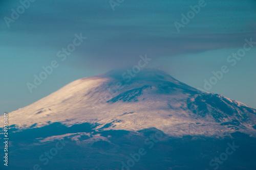 Photo sur Toile Montagne Mount Etna Volcano - Sicily - Italy