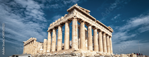 Photo sur Toile Athenes Parthenon on the Acropolis, Athens, Greece
