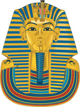 Tutankhamen Vector Illustration