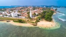 Aerial. Galle City View. Sri Lanka.