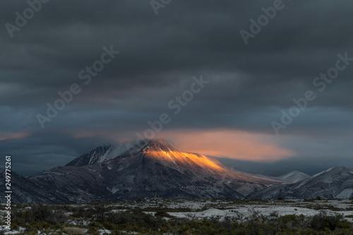 Foto op Aluminium Vulkaan Tromen National Park