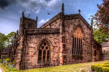 Medieval Holy Trinity Church In Skipton,North Yorkshire, Great Britain.